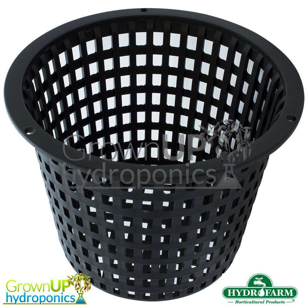 Quality Ultra Heavy Duty Net/Mesh Pots - Reusable - Sturdy/Rigid