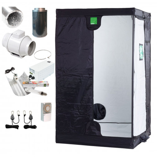 Medium BudBox Complete Kit - 250w HPS - 4 Inch Fan Filter Kit