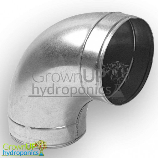 90 Degree Ducting Elbow - 100-250mm - 4-10 Inch