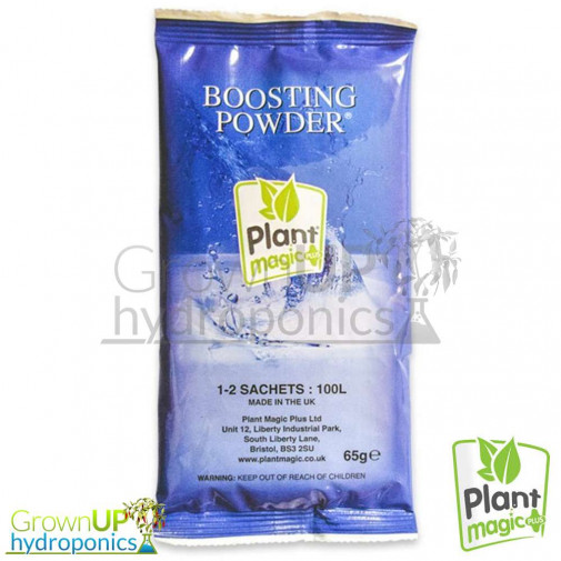 Plant Magic Boosting Powder - Flowering Stimulator - Made in the UK