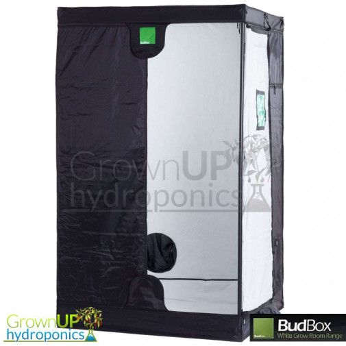 BudBox Pro XL White - 1.2 x 1.2 x 2m - Indoor Growing Space