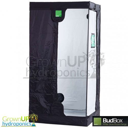 BudBox Pro Medium White - 75x75x200cm - Indoor grow Tent