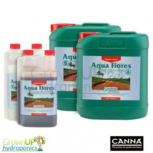 Canna Aqua Flores - Flowering/Bloom Nutrient - Various