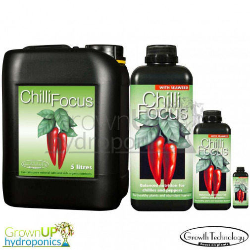 Chilli Focus - Liquid Plant Food/Nutrient for Peppers and Chillies - Various Sizes
