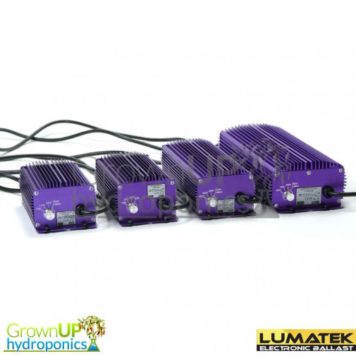 Lumatek Digital Dimmable Ballasts - 250w, 400w, 600w and 1000w - Hydroponic Grow Lights