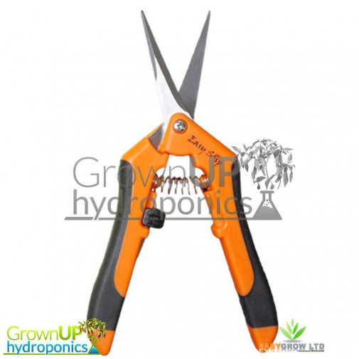 Easy Snip - Rubber Handle - Steel Curved Blade