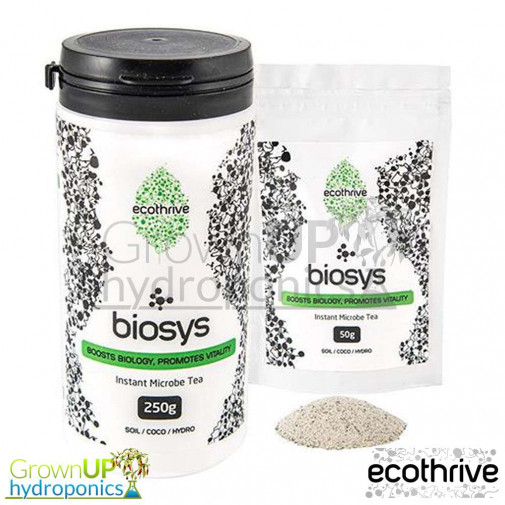 EcoThrive Biosys - Instant Microbe Tea - 50 or 250g