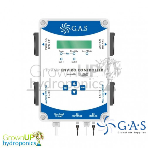 G.A.S. Enviro Controller - EC or AC - Complete Grow Room Control