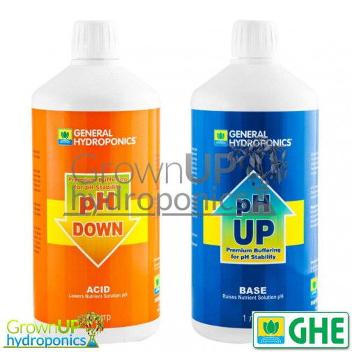GHE pH Regulators - Up and Down