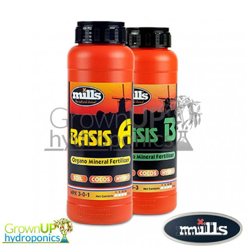 Mills Nutrients - Basis A+B - Organo Mineral Feed