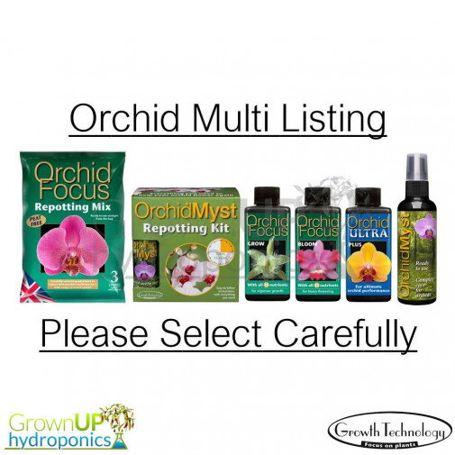 Orchid Multi Listing- Myst, Nutrients, Potting Compost and/or Kits