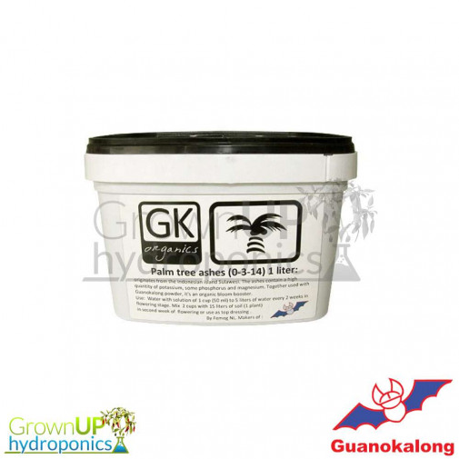 Guanokalong Palm Tree Ashes 1kg - Potassium 0-1-30