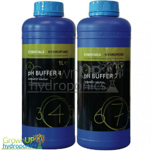 pH Buffers - 4 and 7 - 30ml, 250ml and 1 Litre
