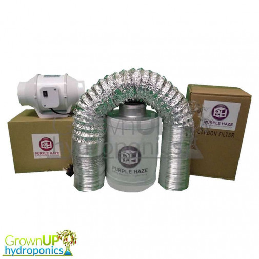 Carbon Filter, Fan and Ducting Kits