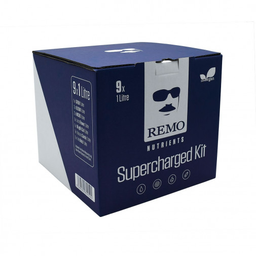 Remo Nutrients - SuperCharged Kit - 9 x 1 Litre Bottles