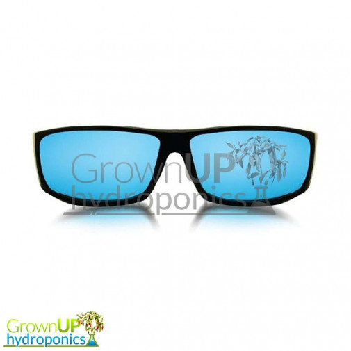 Shady's Optics - The Cartel - Blue Tinted Grow Room Glasses