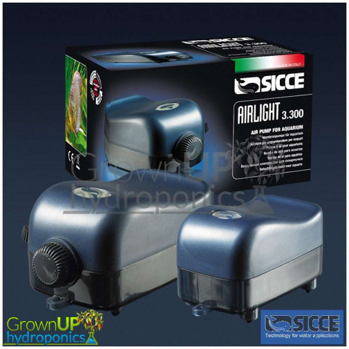 Sicce AirLight Air Pumps - Quiet - Quality