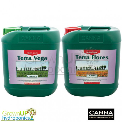 Canna Terra Vega and/or Flores - Premium Liquid Plant Food