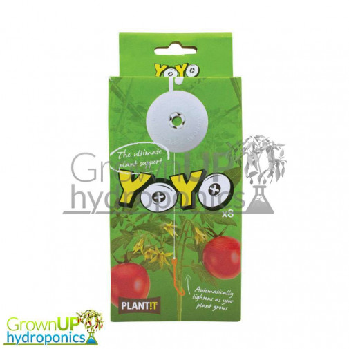 Plant Support Yo-Yo - Self Tightening - 8 Pack