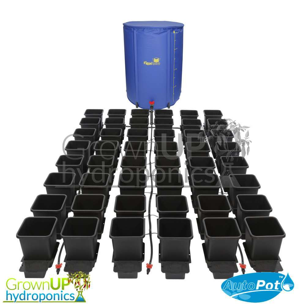Complete Kit 15L Pots 47L Tank Autopot 4 Pot Kit