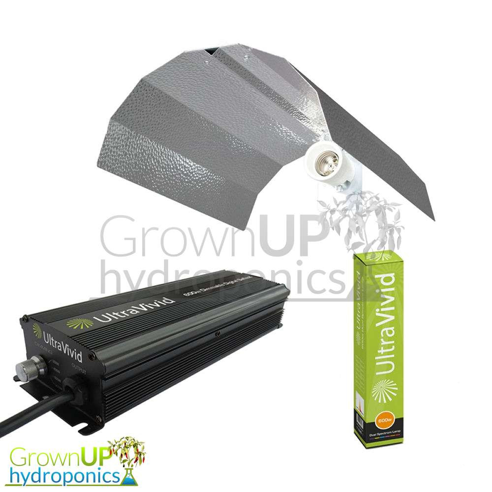 Maxibright Euro Reflector Up To 600W Hydroponics Lighting Equipment