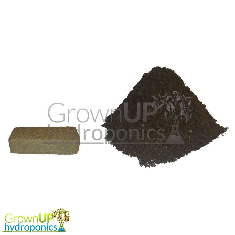 8L (litre) Coco Coir Block/Brick - Dehydrated Peat Free Growing Medium