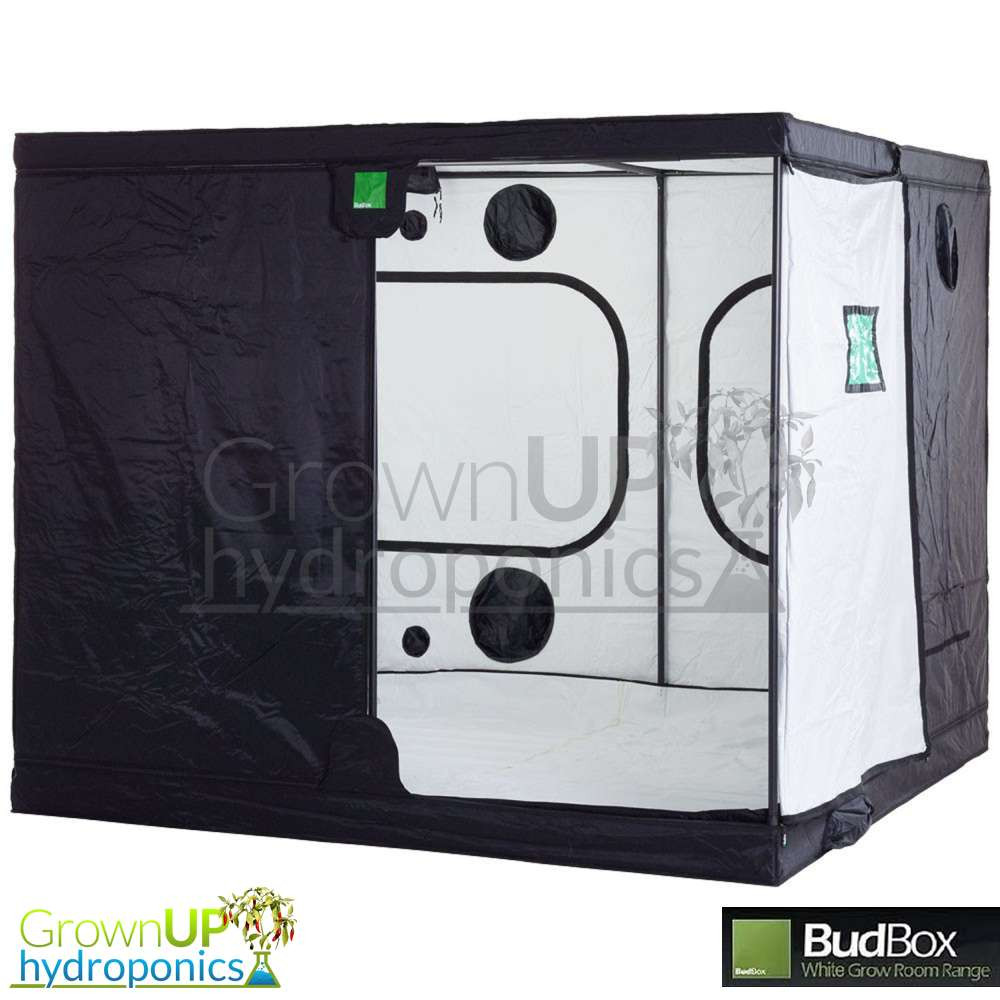 BudBox Pro Titan 3 White - 3 x 3 x 2m - Indoor Growing Tent  sc 1 st  Grown Up Hydroponics & 3 x 3 x 2m - BudBox Grow Tent Pro Titan 3 White