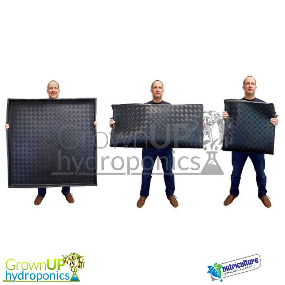 Flexible Square Trays - 80cm 1M or 1.2M - Grow Tent liner - Hydroponics ...  sc 1 st  Grown Up Hydroponics & Flexible Square Trays - High Quality - Garden/Pets/Boots - Wipe clean