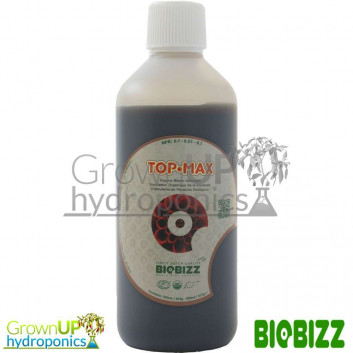 BioBizz Top Max 1 Litre - Hydroponics Nutrient Boost - Flowering cycle