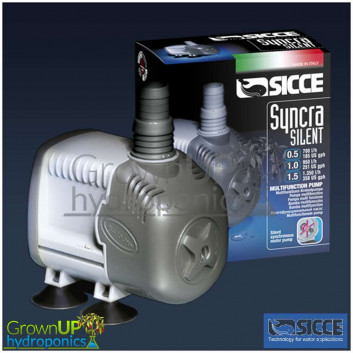 Sicce Syncra Silent Pumps 0.5, 1.0 and 1.5