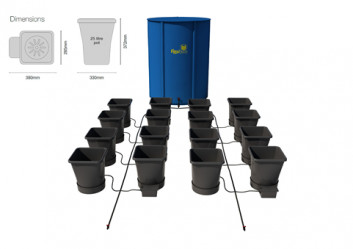 16POT XL SYSTEM (USING 16MM PIPE)