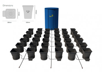 36POT XL SYSTEM (USING 16MM PIPE)