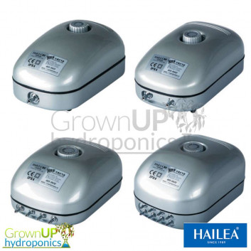 Hailea Adjustable Air Pumps - Hydroponics or Aquarium
