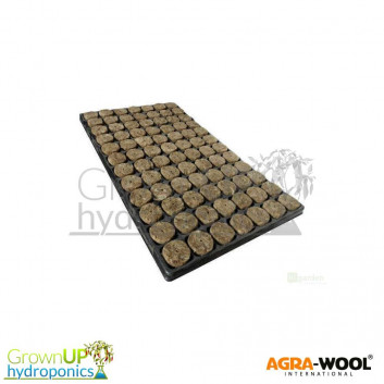 Agra Wool - SpeedGrow Propagation Plugs - 35mm