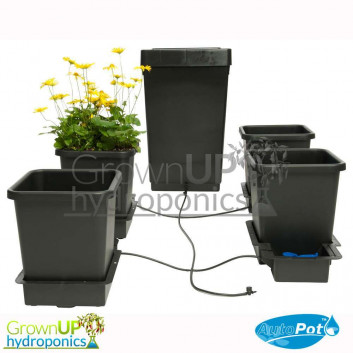 Autopot 4 pot Kit - Complete Gravity fed Hydroponics System