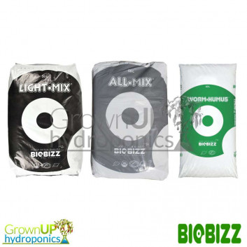 BioBizz Growing Media - All Mix, Light Mix, Worm Humus
