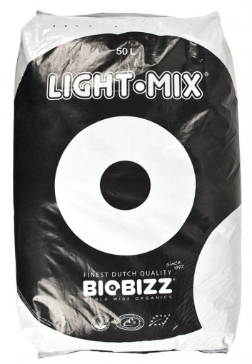 BioBizz Light Mix Potting Soil - 20L or 50 Litre Bag