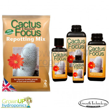 Cactus Focus Nutrient and Compost