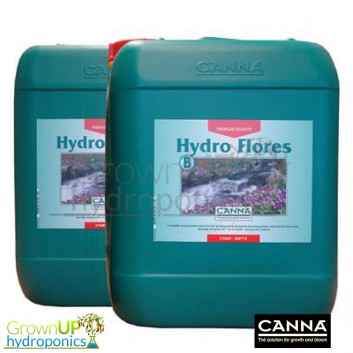 Canna Hydro Flores Hard or Soft Water A+B - 2 x 5 litre