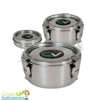 CVault - Storage & Curing Container - Stainless Steel
