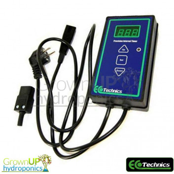 Ecotechnics Digital Precision Interval timer - Hours, Minutes and Seconds