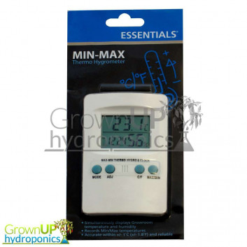 ESSENTIALS DIGITAL MIN-MAX THERMO HYGROMETER