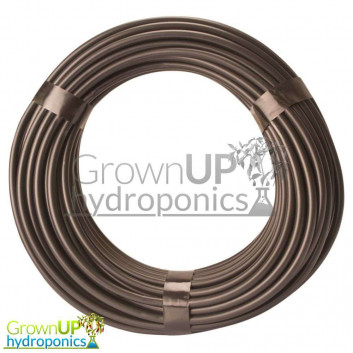 3mm or 4mm Black Irrigation Line - Tough, Flexible Pipe/Tube