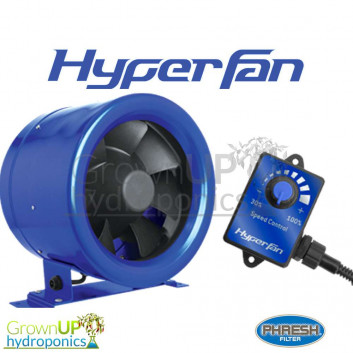 Phresh Hyper Fan - Digital Extraction Fans - Highly Efficient and Low Power Consumption