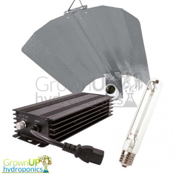 Lumii Black Digi Kit - Ballast, Lamp and Euro Reflector