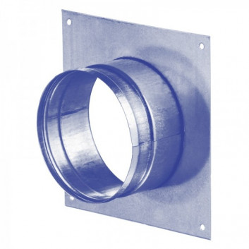Metal Square Ducting Wall Flange - 100mm - 315mm