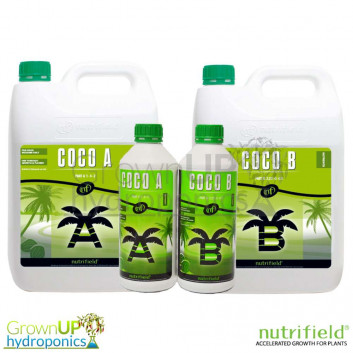 Nutrifield Coco Nutrient A+B - Complete Grow and Bloom Formulation
