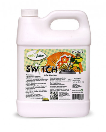 Optic Foliar - Switch - Prevents Male Flowers