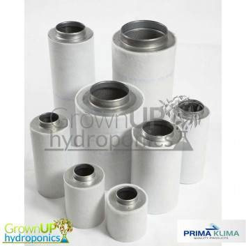 Prima Klima Carbon Filters - Quality Air Filtration - Virgin Activated Carbon