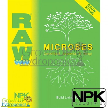RAW - Grow Microbes - 100% Water Soluble